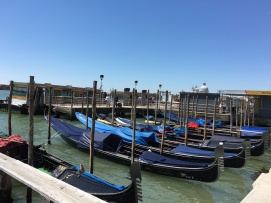 Gondolas in San Marco